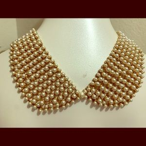 White Necklace Collar Style